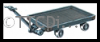 Peco LK-753 4 Wheel Platform Trolley (cast white metal)